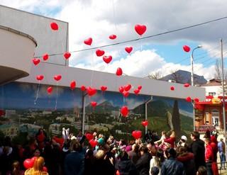 В Пятигорске состоялся традиционный марафон «Большое сердце»