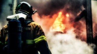 В Ессентуках при пожаре на теплотрассе погиб человек