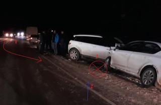 На Ставрополье при столкновении иномарок пострадали три человека